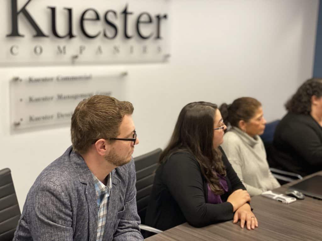 Kuester Community Management Meeting